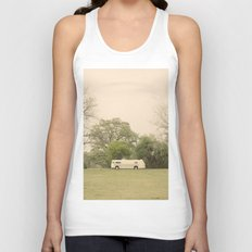 lost in the trees::austin Unisex Tank Top