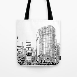 Tokyo - Shibuya Tote Bag