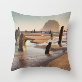The Ghost Forest Throw Pillow