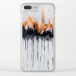 Done With The Cave Of Sorrow Clear iPhone Case