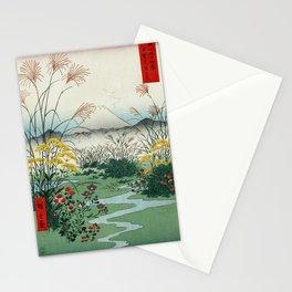 Hiroshige - 36 Views of Mount Fuji (1858) - 31: The Ōtsuki Plain in Kai Province Stationery Cards