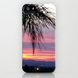 Norco sunset iPhone Case