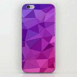 Abstract Geometric Poly #3 iPhone Skin
