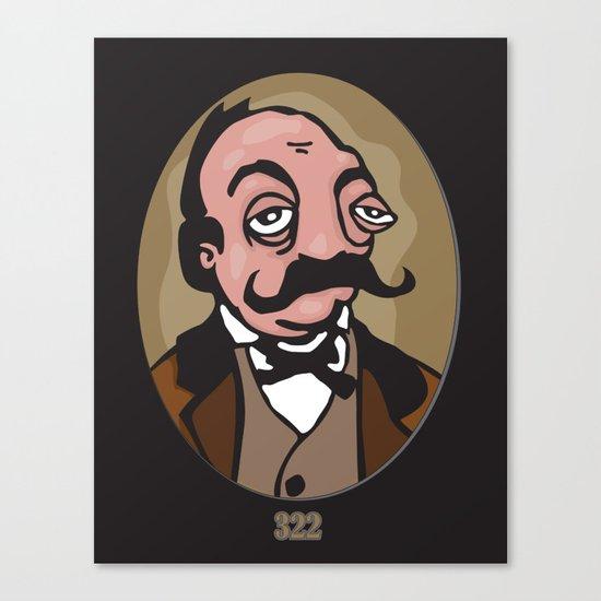 322 Canvas Print