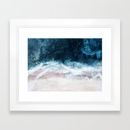 Blue Sea II Framed Art Print