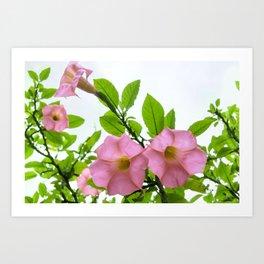 Eternal Flowers Art Print