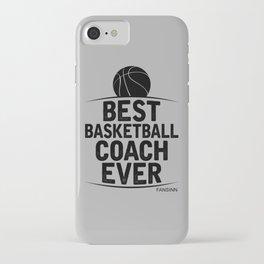 Basketball sports ballgame basket player gift iPhone Case