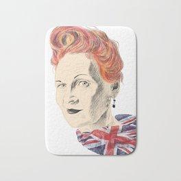 Vivienne Westwood illustration Bath Mat