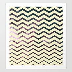Cosmic Zag Art Print