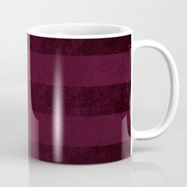Red Wine Stripes Coffee Mug