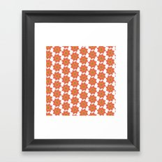 Spring Floral Pattern Framed Art Print