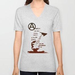 Anarchy Isn't... Unisex V-Neck