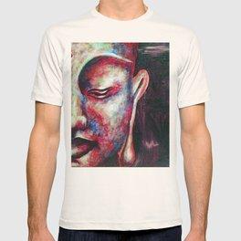 Half Buddha Face T-shirt