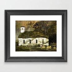 Vintage Church Framed Art Print