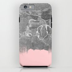 Crayon Marble with Pink iPhone 6s Tough Case