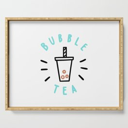 Bubble Tea Drink Serving Tray