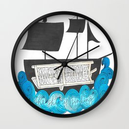 Antigone Wall Clock