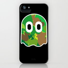Camo Blinky iPhone Case