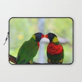 Rainbow Birds Laptop Sleeve