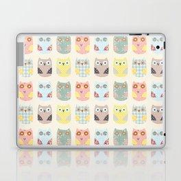 owls pattern Laptop & iPad Skin