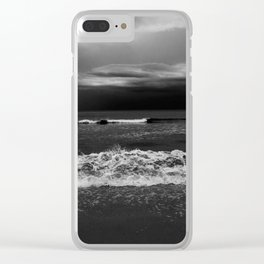 Through gray eyes Clear iPhone Case