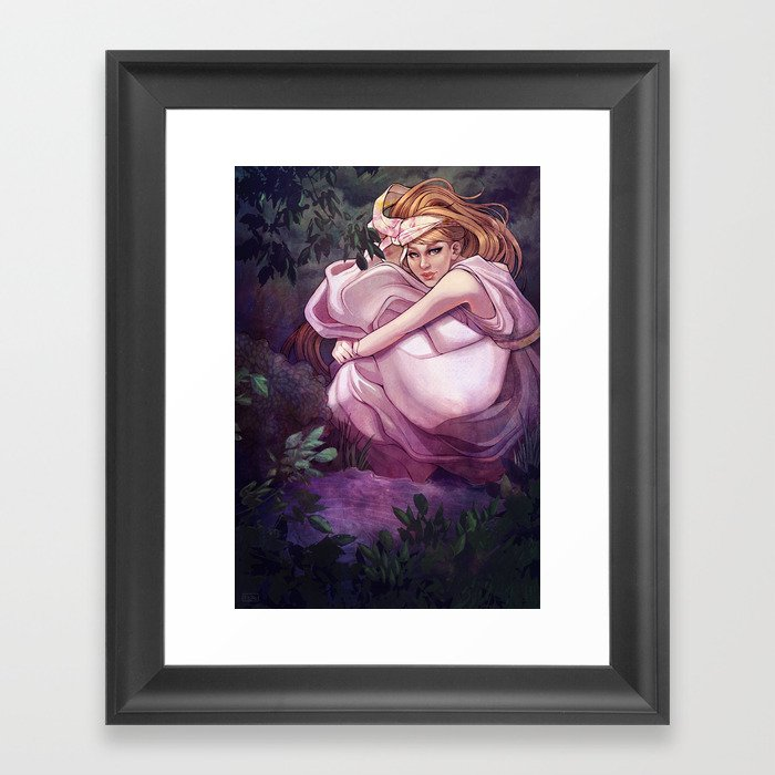 February Framed Art Print