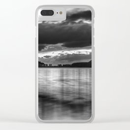 """""""Sunset After The Storm""""  BW Clear iPhone Case"""