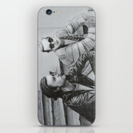 Portait of Zach and Jesse from The Neighbourhood iPhone Skin