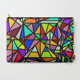 Colourful Abstract Carry-All Pouch