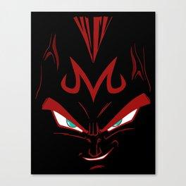 Vegeta majin face Canvas Print