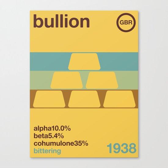 bullion//single hop Canvas Print