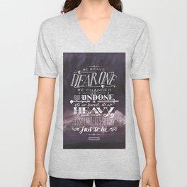 Be Brave Unisex V-Neck