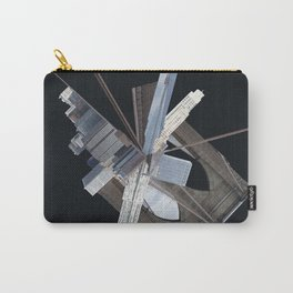 Brooklyn Bridge Gone Wild in Spacetime Carry-All Pouch