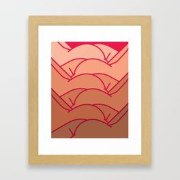 Summer Bums Framed Art Print