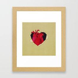 The Hidden Heart Framed Art Print
