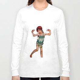 Cute Little Girl Long Sleeve T-shirt