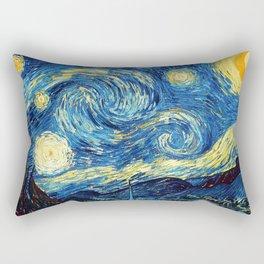 "Vincent van Gogh ""The Starry Night"" Rectangular Pillow"