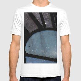 Starry Night - Clock Tower T-shirt
