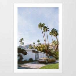 Palm Springs Mid Century Modern 1 Art Print
