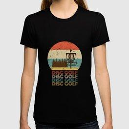 Disc Golf Discgolf Vintage Design T-shirt