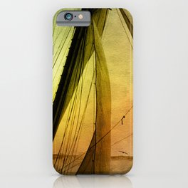 Sailing Schooner from the past iPhone Case