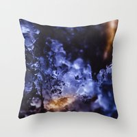 optimus prime Throw Pillows featuring Optimus Prime III by HappyMelvin