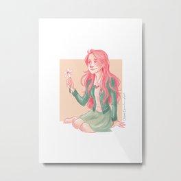 Luna Lovegood Metal Print