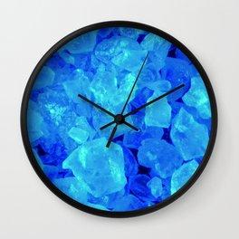 BLUE METH Wall Clock