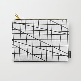 Gossamer. Black and white.2 Carry-All Pouch