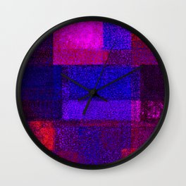 Christmas Square Dance Wall Clock