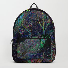 Psychedelic Forest.... Backpack