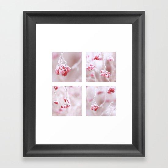 Red Berries Quadro Framed Art Print