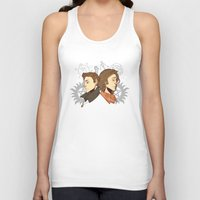 winchester Tank Tops featuring Winchester Bros by PotatoCrisp
