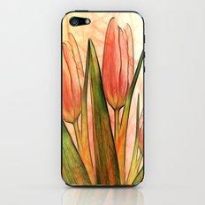 Tulips red iPhone & iPod Skin